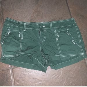Mossimo green shorts